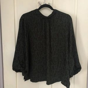 Tops - Green blouse from target